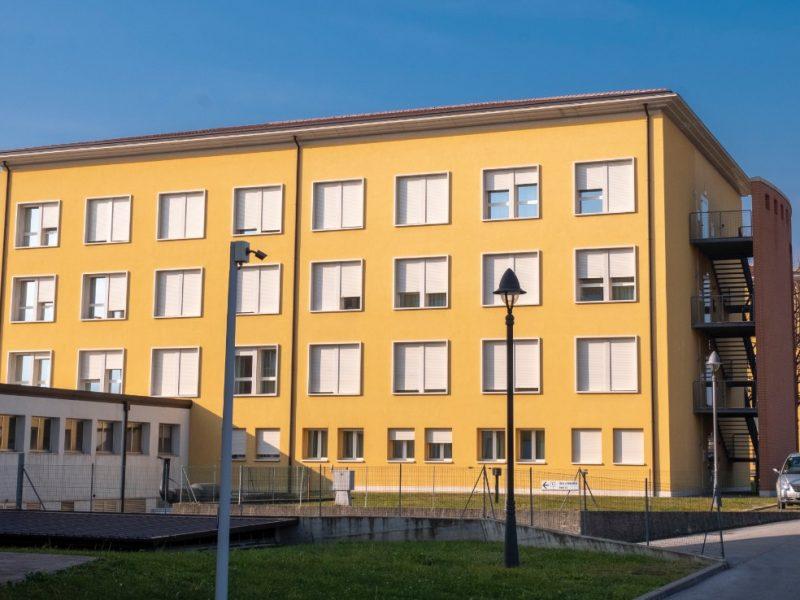 vista esterna di una delle ville del Centro Residenziale