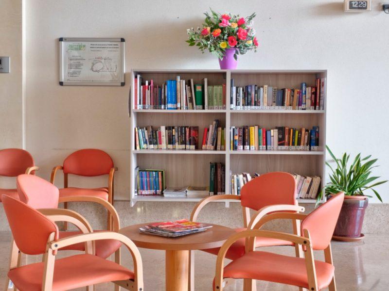 una delle biblioteche del Centro